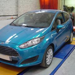 Ford Fiesta: Plancher pour les personnes de petites tailles