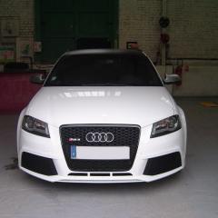 Audi A3 RS: le cercle accélérateur