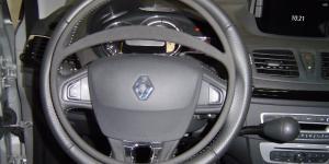 Cercle accélérateur sur Renault Mégane