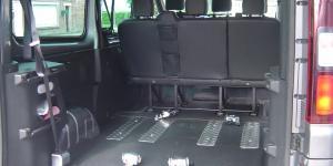 Aménagement Renault Trafic TPMR