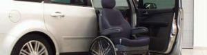 Fauteuil roulant siège de voiture