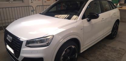 L'Audi Q2 transformé pour l'apprentissage à la conduite