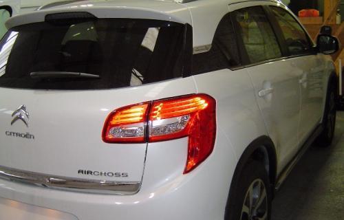C4 Aircross équipé en auto-école